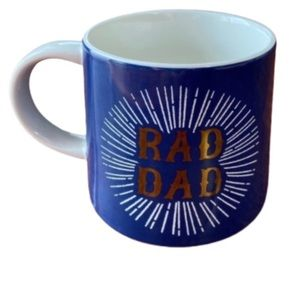 Blue Gold Rad Dad Coffee Mug